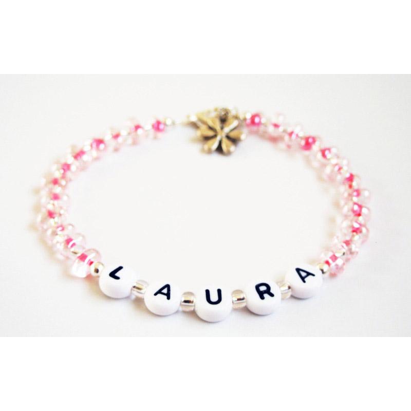 Personalized Bead Bracelets Alert Bracelet